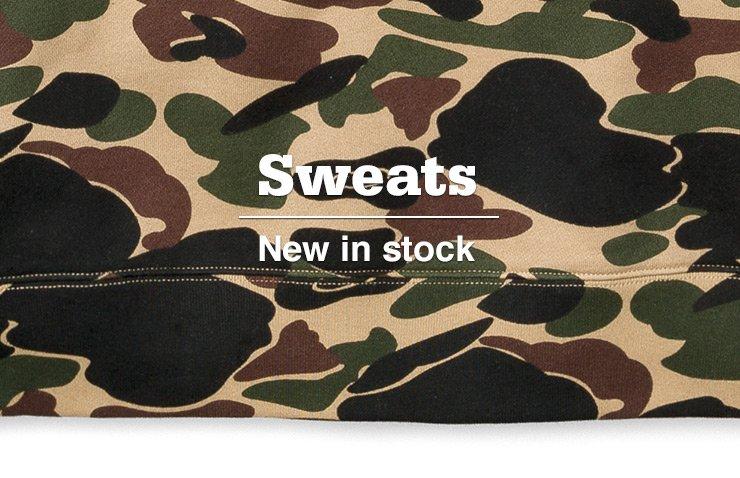 Sweats - New in stock