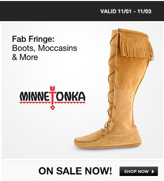 Fab Fringe: Boots, Moccasins and More