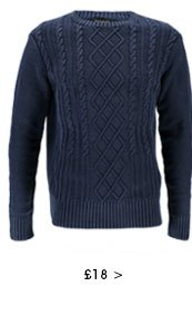 Cable Crew Acid Wash Jumper