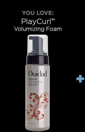 You Love: PlayCurl Volumizing Foam