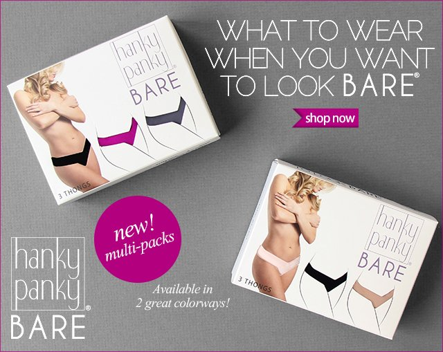 BARE all in our new 3-Packs