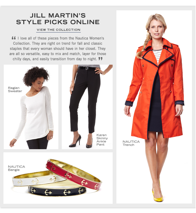Jill Martin's Style Picks Online. View the collection.