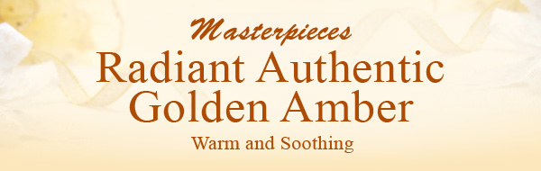 Masterpieces Radiant Authentic Golden Amber