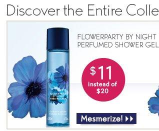 FLOWERPARTY BY NIGHT PERFUMED SHOWER GEL