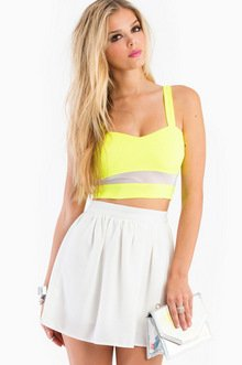 ELECTRIC LANE CROP TOP 23