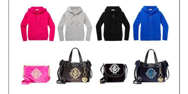 Exclusively YOURS For 30 percent OFF. Dig into our bounty of fresh styles, available only at juicycouture.com.