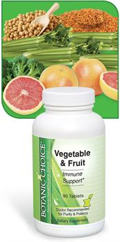 Vegetable and Fruit Tablets