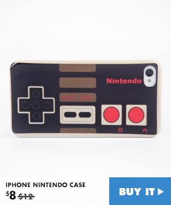 IPHONE NINTENDO CASE