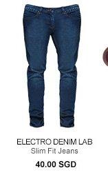 Electro Denim Lab Slim Fit Jeans