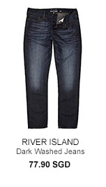River Island Dark Washed Jeans