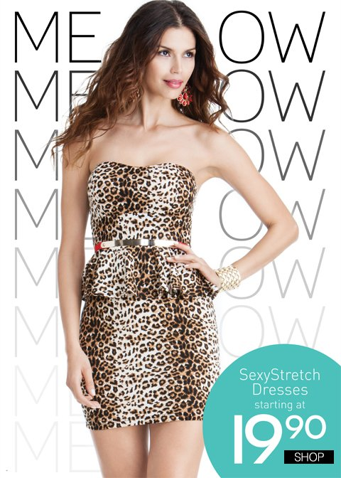 We're Not Kitten You - Sexy Dresses from $19.90