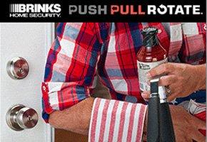 Brinks Push Pull Rotate® Door