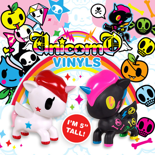 Stellina is now here in large Unicorno form along with our newest addition to the Unicorno family, Black Neon!