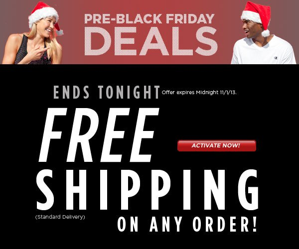 Today Only FREE Shipping on Any Order!