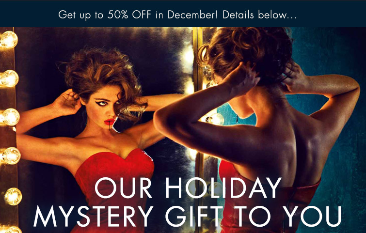 Our Holiday Mystery Gift To You
