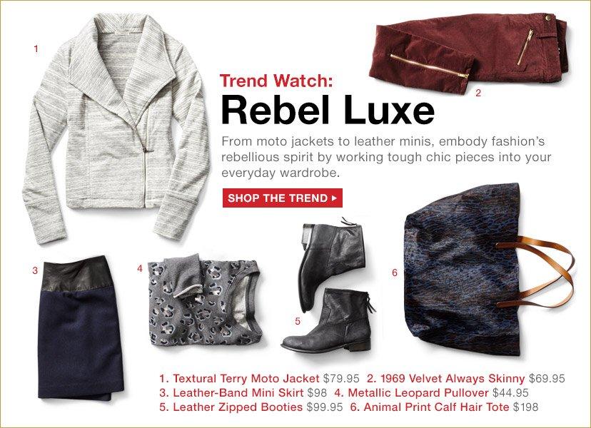 Trend Watch: Rebel Luxe | SHOP THE TREND