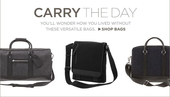 CARRY THE DAY | SHOP BAGS