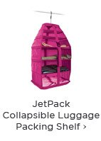 JetPack Collapsible Luggage Packing Shelf