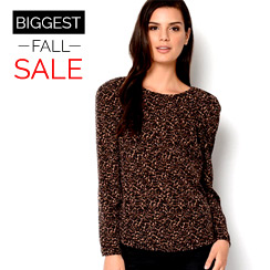 The Biggest Fall Sale: Tops for Her