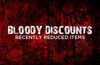 Marketplace: Bloody Blowout Mayhem Sale!