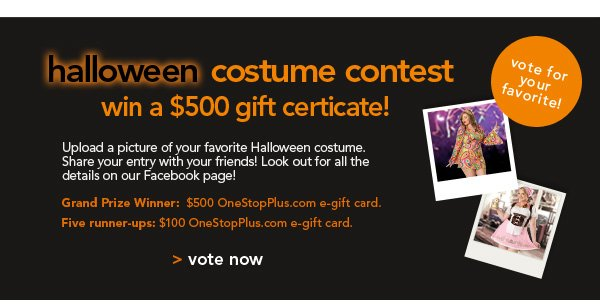 Enter our Halloween Costume Contest