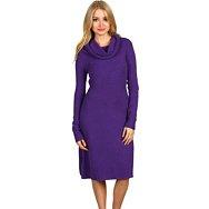 "BCBGMAXAZRIA ""Nellie"" Shawl Collar Sweater Dress"