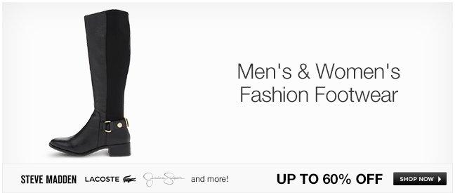 Men's and Women's Fashion Footwear