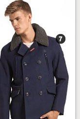 merchant pea coat