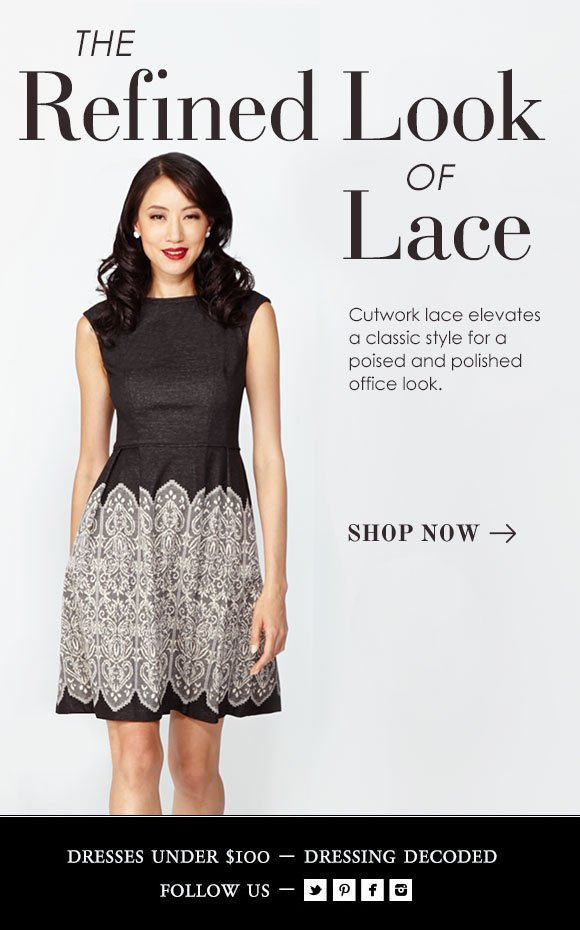 The Refined Look of Lace