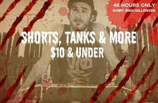 Shorts, Tanks, & More $10 & Under