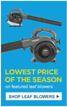 Lowest price of the season on featured leaf blowers | Shop Leaf Blowers