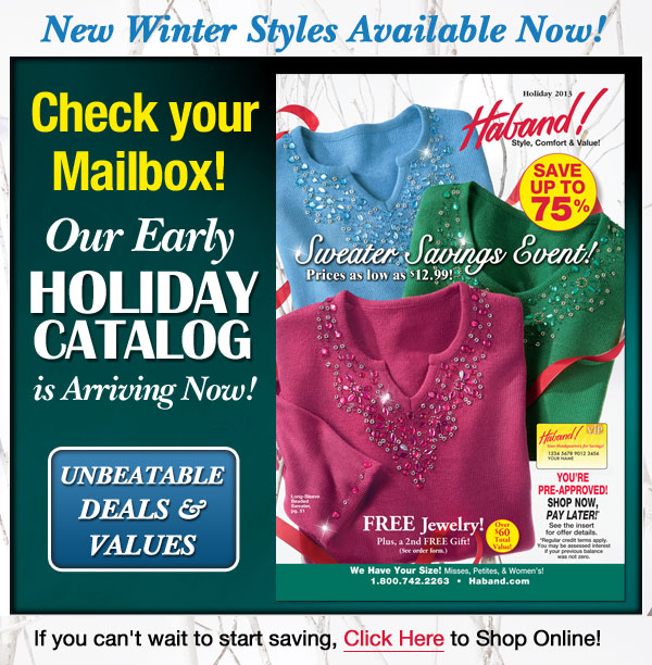 Winter Catalog Arrving Now!
