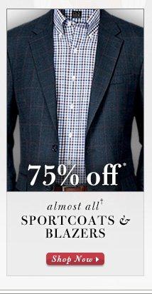 Sportcoats & Blazers - 75% Off