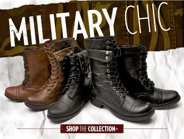 Shop Military Chic