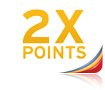 Earn Double Points Nationwide