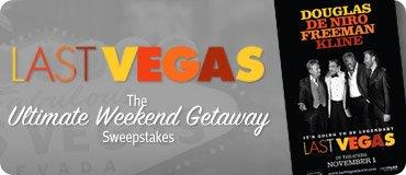 The Ultimate Weekend Getaway Sweepstakes