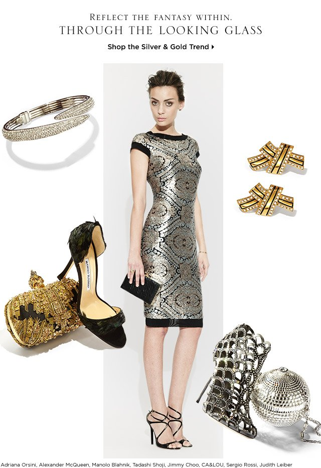 Shop the Silver & Gold Trend