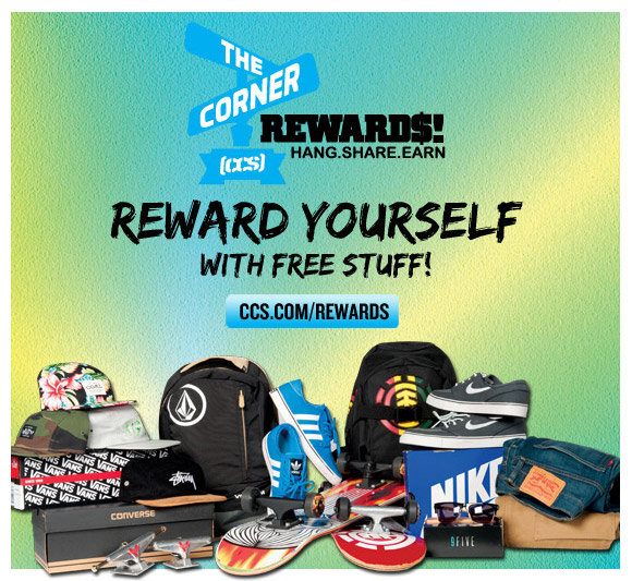 Reward Yourself! CCS Rewards at The Corner