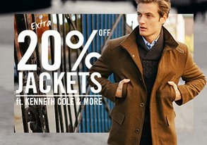 Shop EXTRA 20% Off Kenneth Cole & More