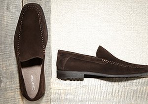 Easily Suede: Loafers