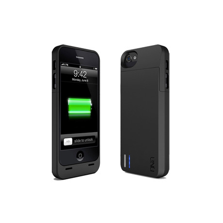 uNu DX Protective Battery Case for iPhone 5 // Matte Black
