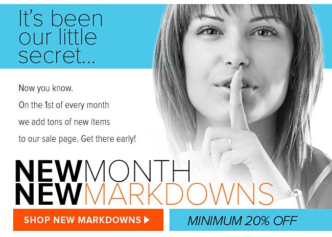 New Month - New Markdowns from HerRoom