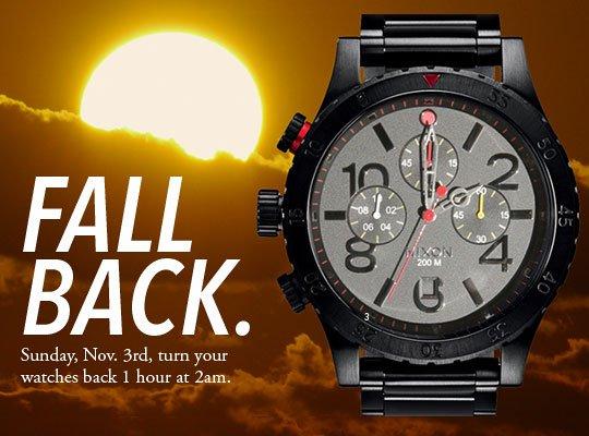 Nixon | Fall Back, The 48-20 Chrono