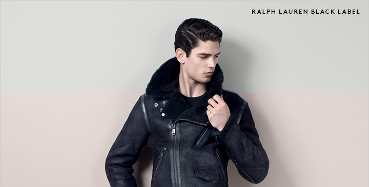 Beat the chill with cozy outerwear by Ralph Lauren Black Label and more.