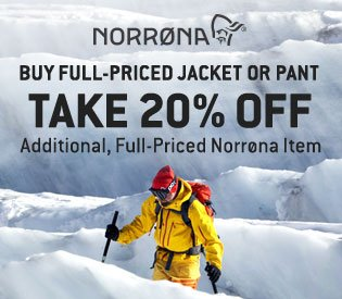 Norrøna—20% Off an Additional Item