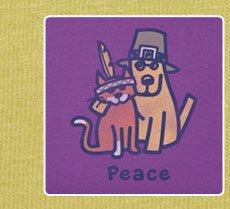 Women's Thanksgiving Peace Crusher Tee