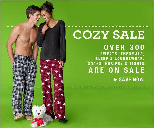 Shop Cozy Sale