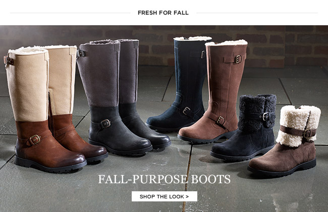 FALL PURPOSE BOOTS - SHOP THE LOOK