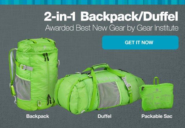2-in-1 Backpack/Duffel