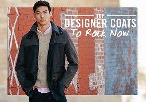 Shop Top Designer Coats to Rock Now